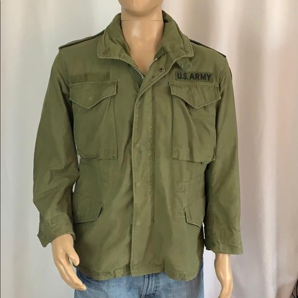 ee3d0a31fad0f Army Jackets & Coats   Vintage M65 Field Jacket Sz Short Small ...